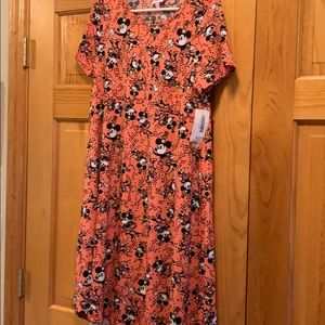 Lularoe Carly dress Disney. Mickey